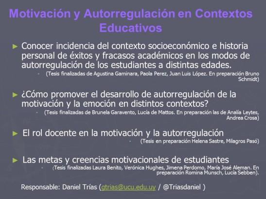 motivación y autorregulación 2014-2015