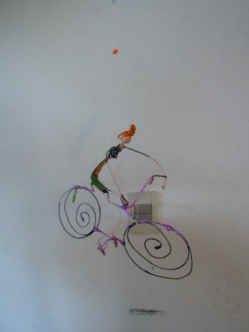 bici volando