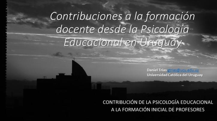 Contribuciones a la formación docente desde la Psicología Educacional en Uruguay